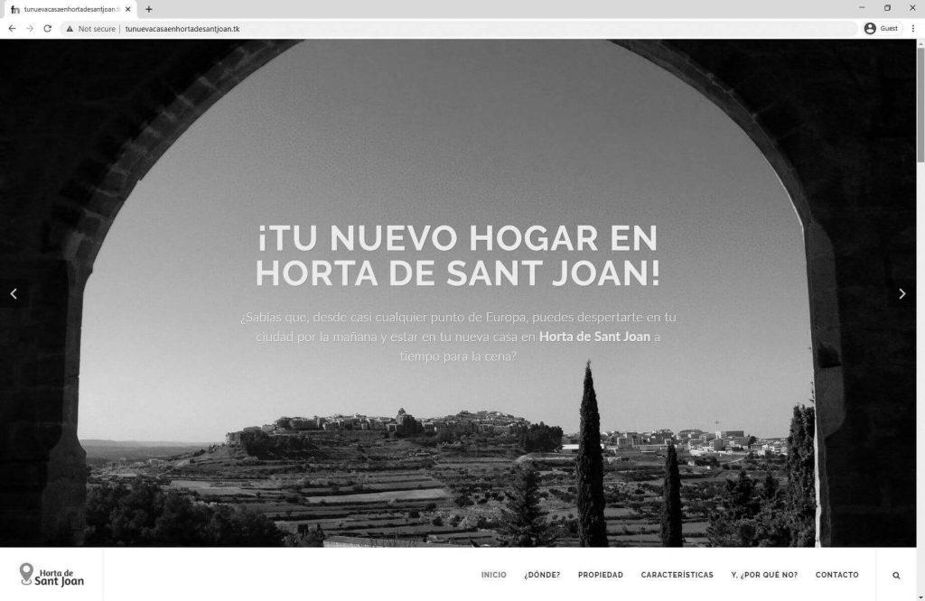 Tu nueva casa en Horta de Sant Joan